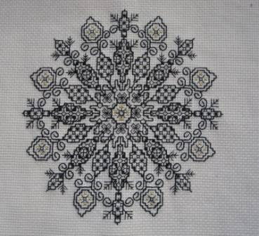 Judy - Blackwork workshop