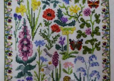 Linda - Flowers Cross Stitch