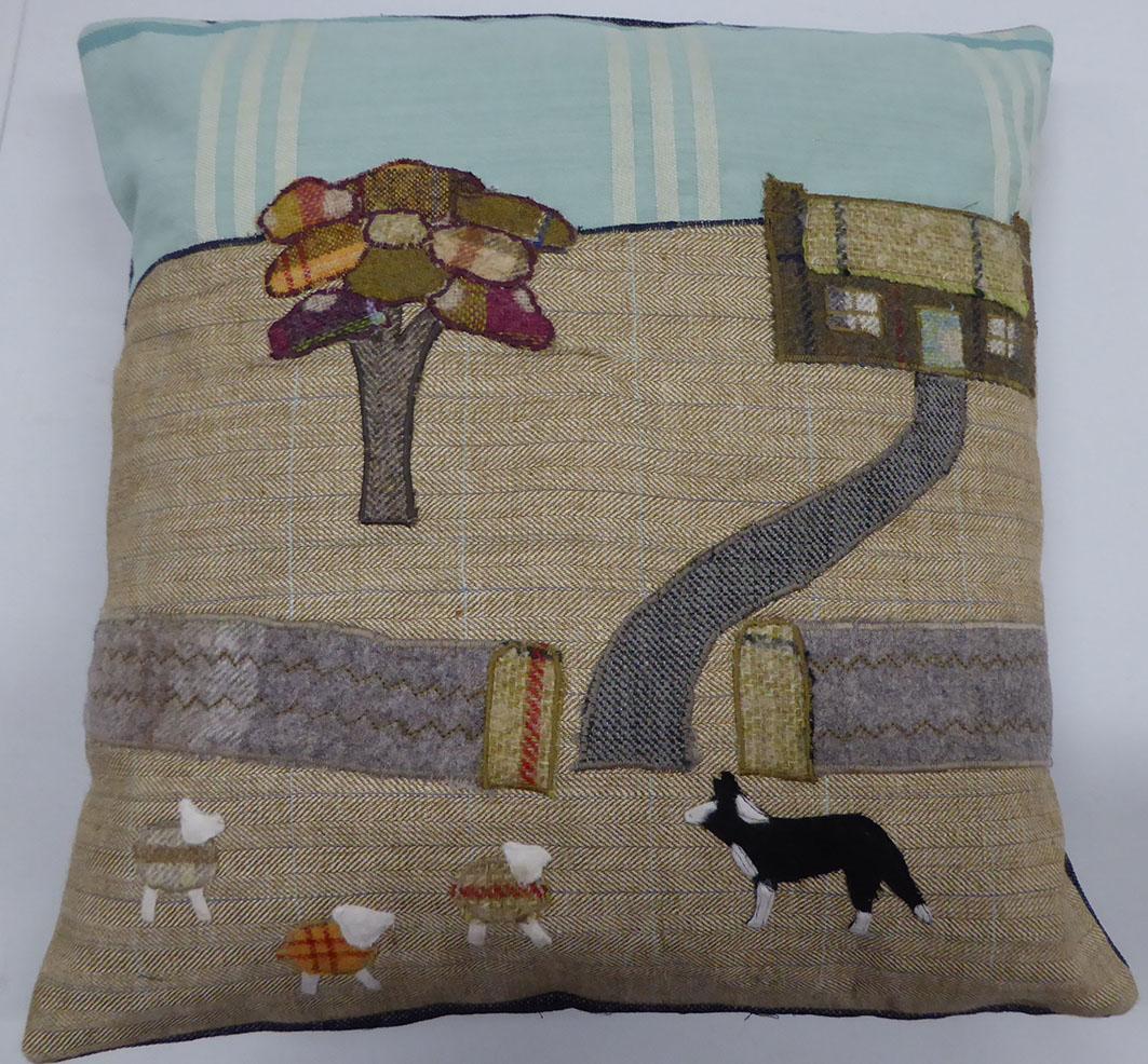 Tweed cushion - Susan Y.