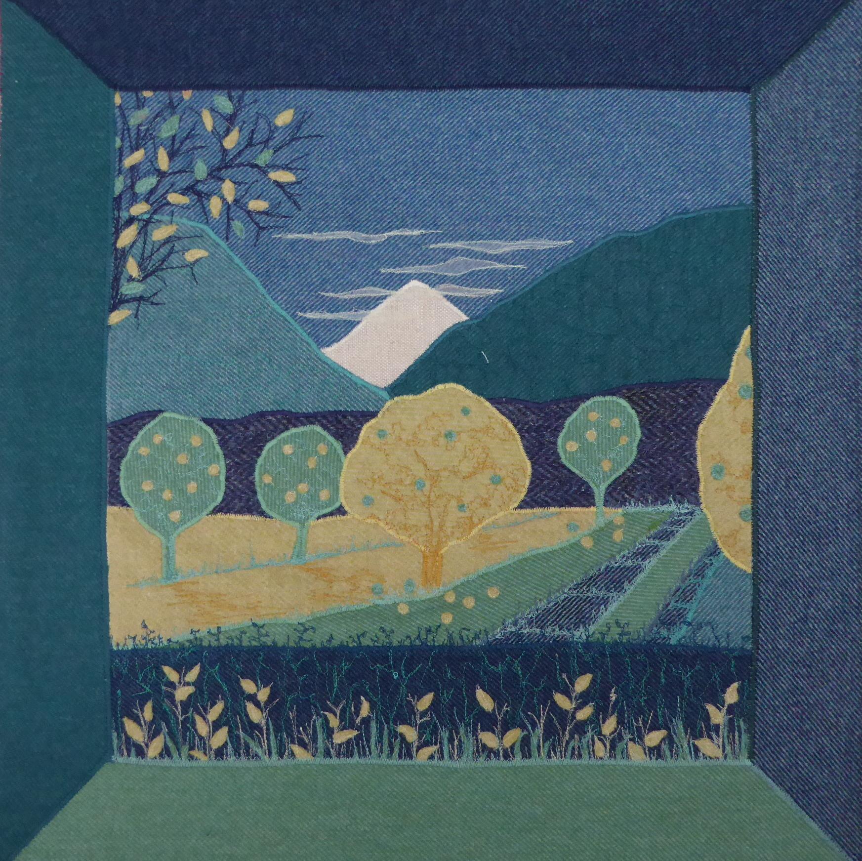 Tweed cushion - Linda