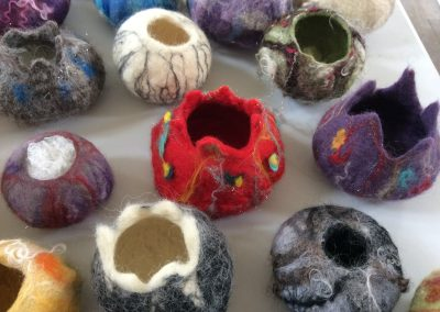 Felt Vessels with Ursula Hurst