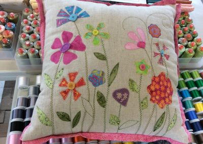 Applique Flowers with Nicola Hulme